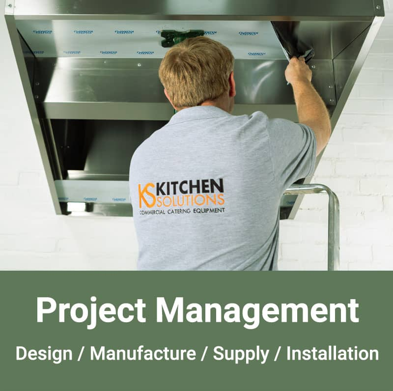 Project Management Commercial Kitchens